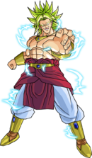 Broly ssj2 v2 by db own universe arts-d4scsqb