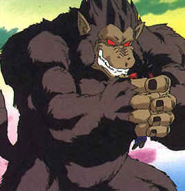 Image result for the great ape dragon ball z