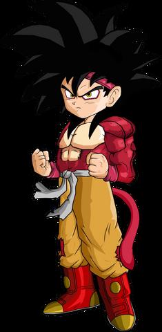 File:Goku Jr SSJ4 by SpongeBoss.png