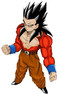Gohan super saiyan 4 by saiyij kun-d3ljeo5