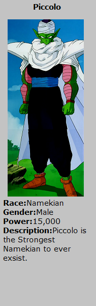 Card Piccolo