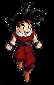Kid goku jr jr by blackpiroflame-d3ecior