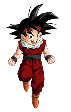 Kid goku jr jr by blackpiroflame-d3ecior