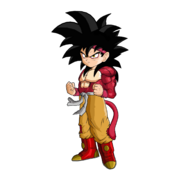 Goku Jr SSJ4 Version 2 by SpongeBoss