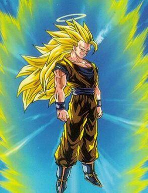 DBZ Goku Super Saiyan 3