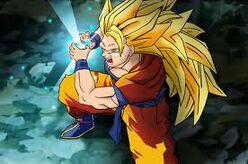 Goku Super Saiyan 3 Super Kamehameha