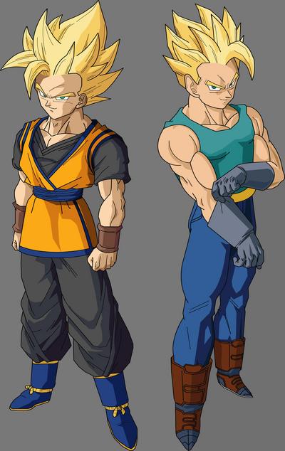 Goten and Trunks