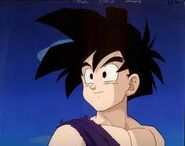 Gohan gets ready to fight Caterpy