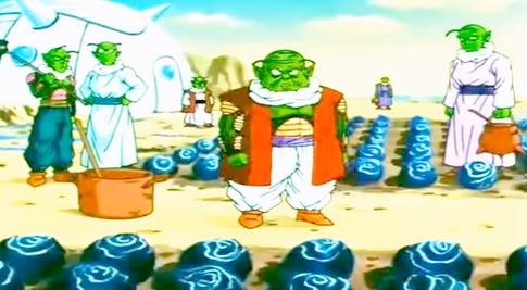 Moori y sus secuaces se dan cuenta de la invasión (DBGSM2)