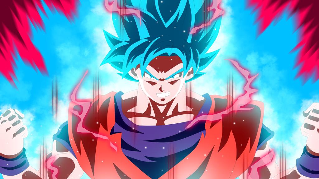 Resultado de imagen para goku kaioken ssj blue