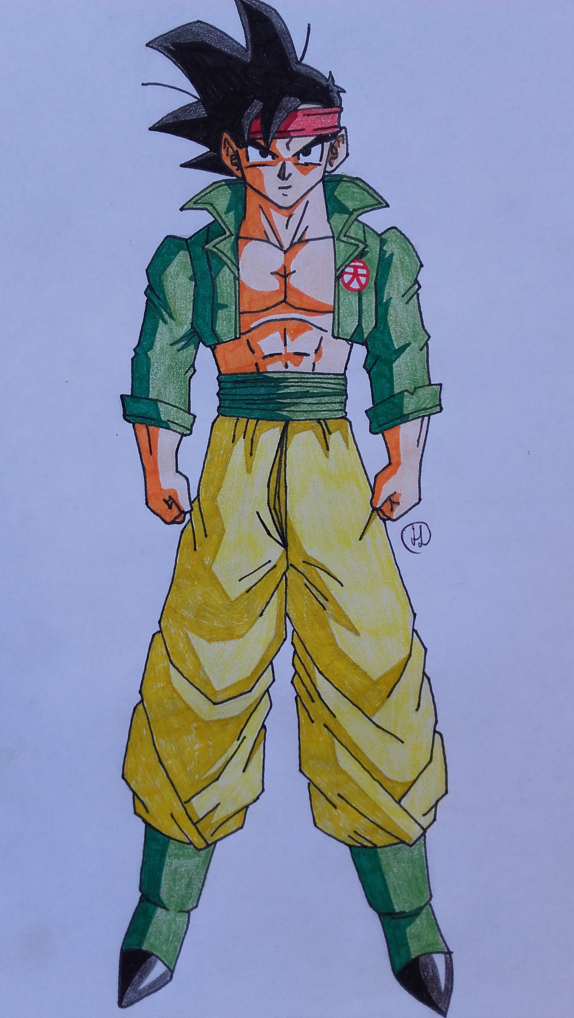 future goten bh version dragonball fanon wiki fandom powered