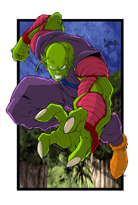 Piccolo after fusing with Zargo