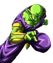 PIccolo getting ready to fight Pikkon