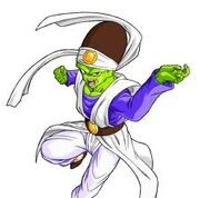 Pikkon gettting ready to fight Piccolo