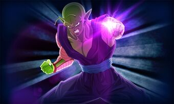 Piccolo uses his Omega Special Beam Cannon