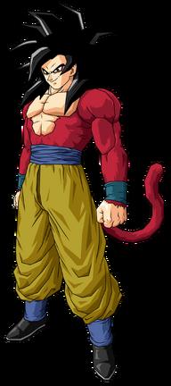 Goku as a Super Saiyan 4