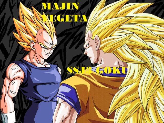 FileWallpaper Majin Vegeta Vs Goku Ssj3 By Dony910 D55dcqs