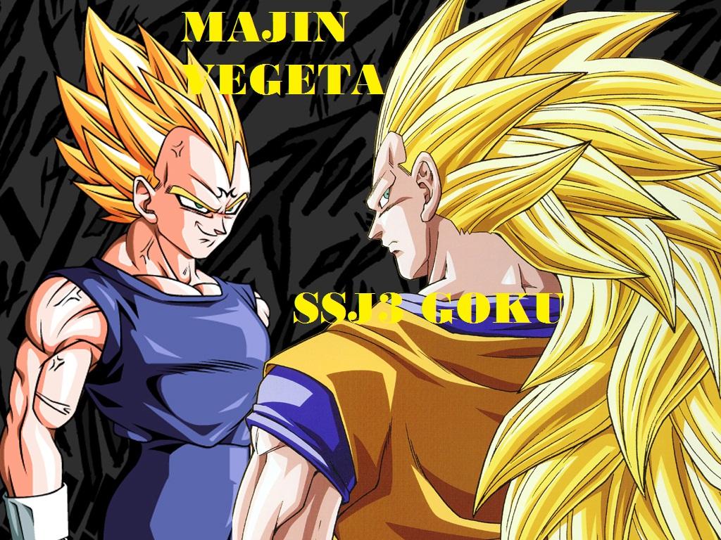 Battle Log: Majin Vegeta vs SSJ3 Goku | Dragonball Fanon ...