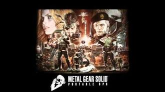 Calling to the Night - Metal Gear Solid Portable Ops OST HQ