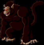Kid son goku great ape or oozaru by ltxalex-d80n30c