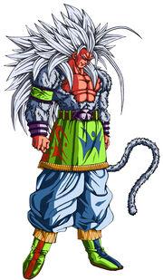Super Saiyan 5 Goku (Xz)