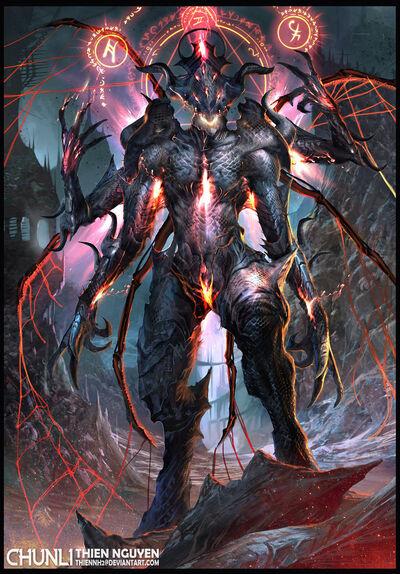 Dark spider lord by thiennh2-d6rvd77
