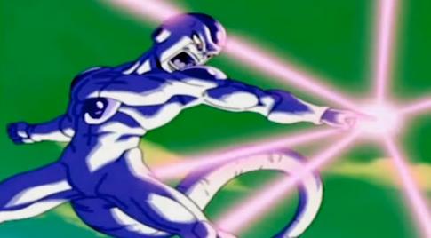 Freezer ataca a Goku (DBGSM2)