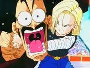 Mr. Satan Vs Android 18