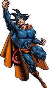 Superman and goku fusion