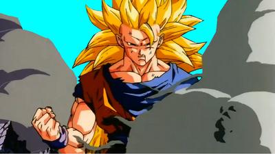 DBZ Goku Ssj3