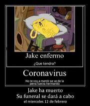 Jake has died by the Coronavirus