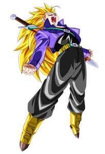 Image - Future Trunks (Super Saiyan 3).jpg | Dragonball ...