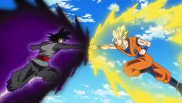 Black vs Goku aura-1-