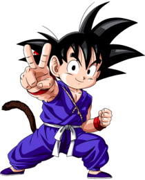 Kid Goku - DB Pilaf Saga