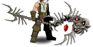 Luminous Staff of Ruin