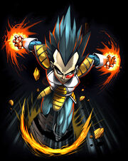 Vegeta the king