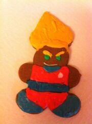 Son Goku the Super Gingerbread
