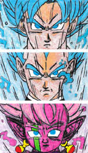 Goku-Vegeta-Azure