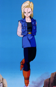 Android 18 standing