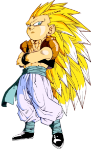 Super Saiyan 3 Gotenks