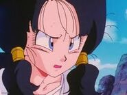Videl before being under the control of the Geta Geta Workout