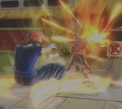 Pan vs Super Saiyan Goten