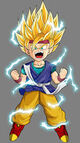 Goku Jr Super Saiyan 2 Form
