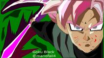 Goku Black Super Sayan Rosé