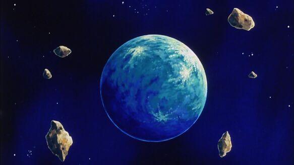 Planet Vegeta Blue