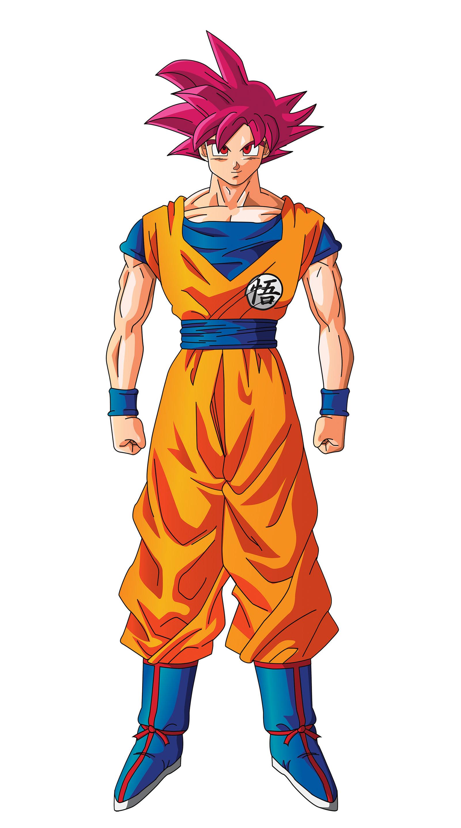 Image super saiyan god dragonball fanon wiki - Sangoku super saiyan god ...