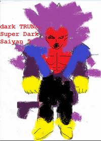 Dark TRUNKS Super Dark Saiyan 5
