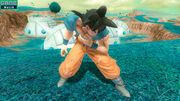 Zenkai Royale gameplay tired Goku