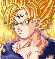 Majin Goku SSJ2 by JJJawor
