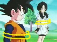 Goten and Videl captured
